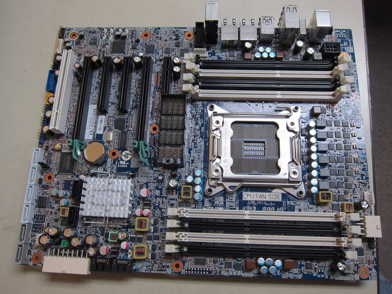 708614-001 HP Motherboard For Z620 Workstation  Refurbished