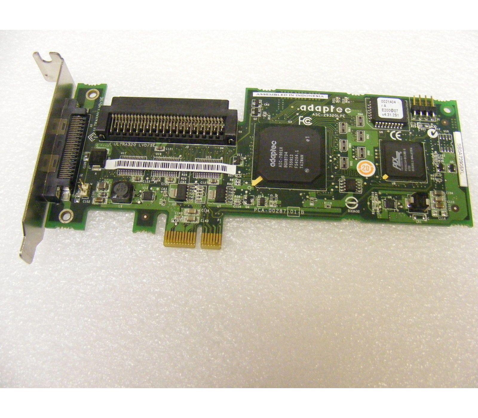 Adaptec 2250300-R U320 SCSI Host Bus Adapter