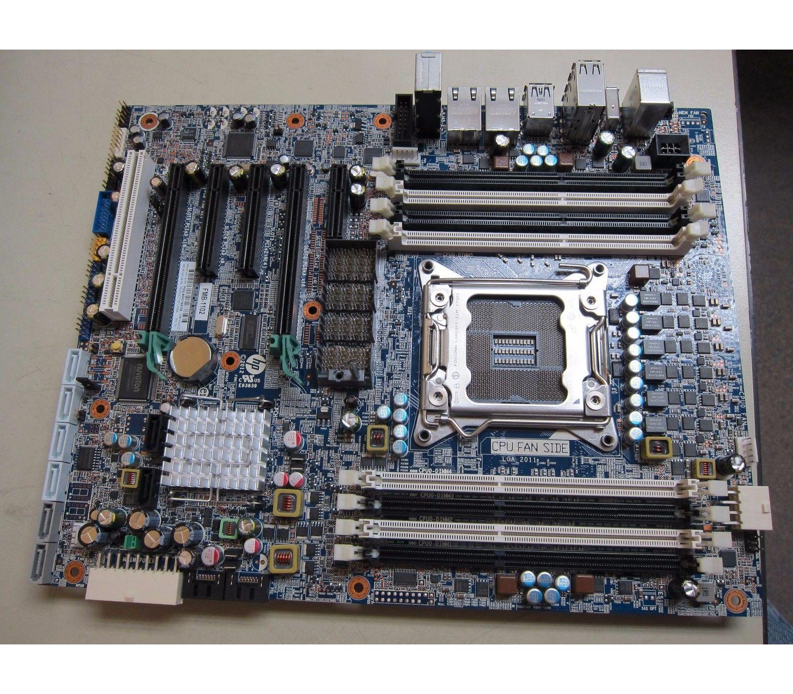 708614-001 HP Motherboard For Z620 Workstation  Refurbished