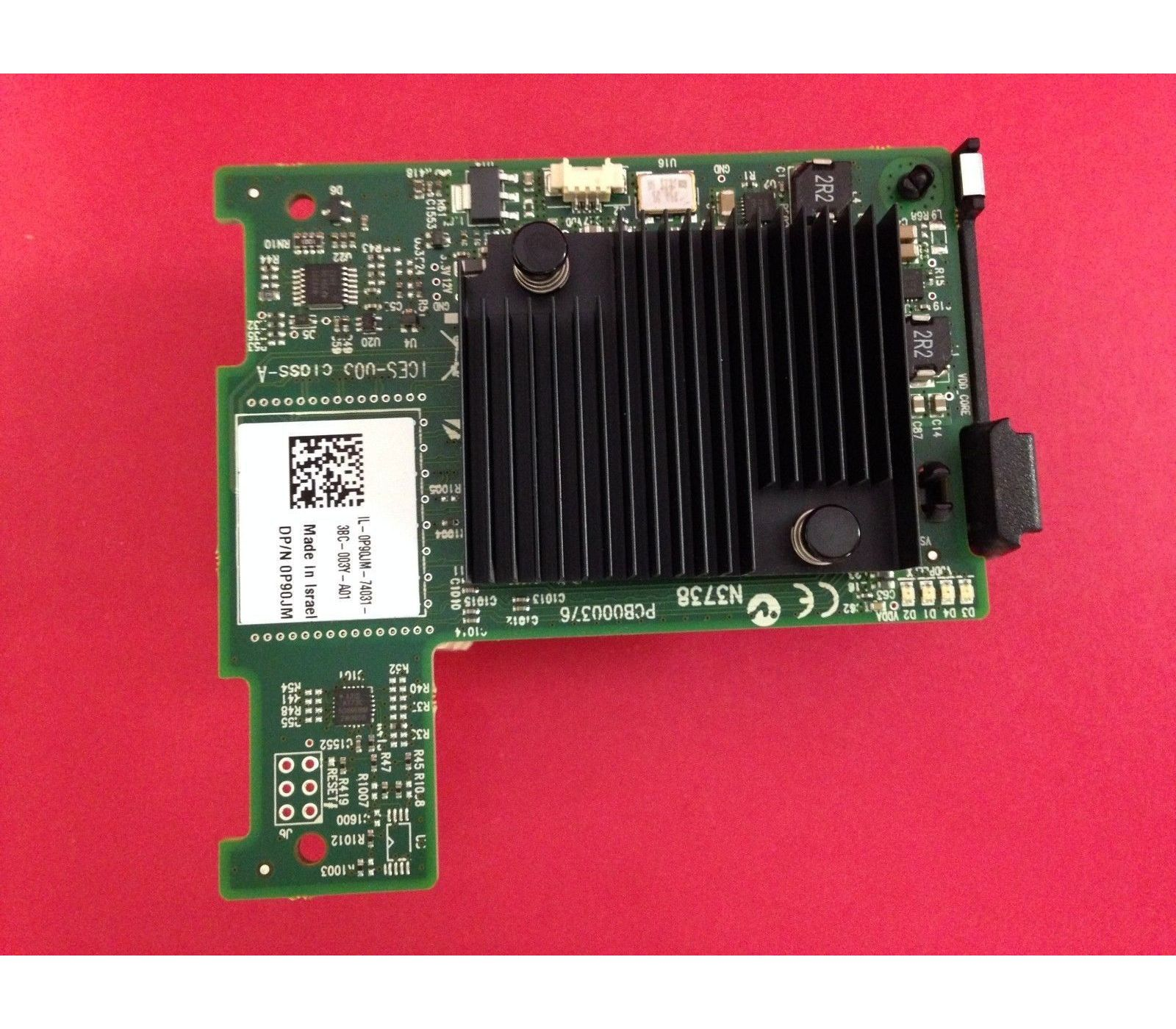 P90JM Dell Connectx-3 Mcx380a Infiniband 40GB/S Fdr10 Mezzanine Network  Card Suports Pci-E 3 0 X8 Gt/S For Poweredge M620/M915  Refurbished