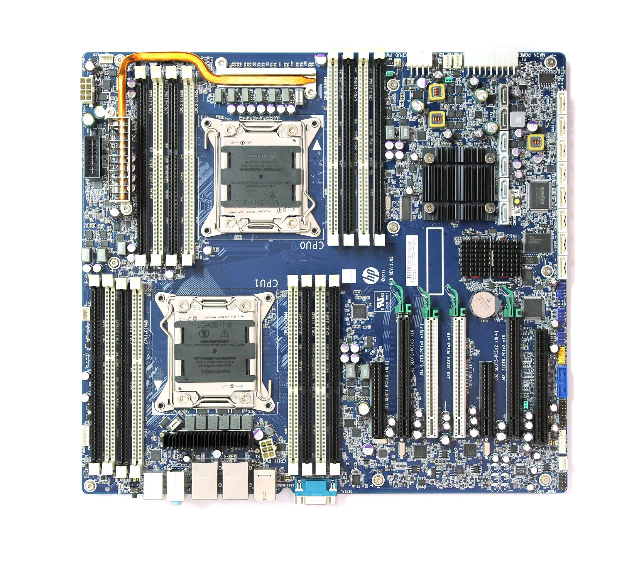 618266-002 HP System Board For Z820 Workstation  Refurbished
