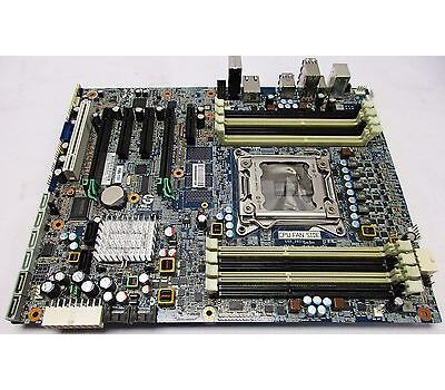618263-001 HP 1333mhz System Board For Z420 Workstation  Refurbished