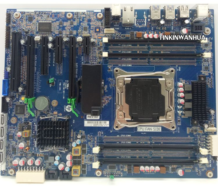 761512-601 HP Motherboard For Wellsburg Z640 Workstation Desktop   Refurbished
